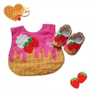 Kit waffle com frutas vermelhas