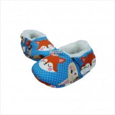 Pantufa raposa azul M