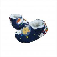 Pantufa astronauta azul marinho P