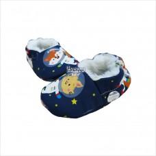 Pantufa astronauta azul marinho