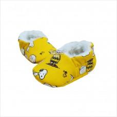 Pantufa Snoopy amarelo