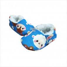Pantufa ovelhinha azul