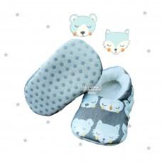 Pantufinha Ariel Soninho azul