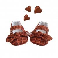 Sapatinho Júlia chocolate