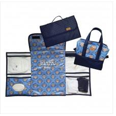 Kit ursinho azul marinho