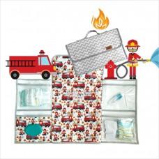 Trocador portátil chevron bombeiro