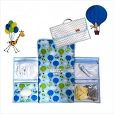 Trocador portátil chevron passeio de balão